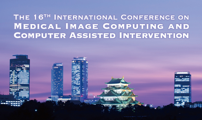 The 16th International Conference on Medical Image Computing and Computer Assisted Intervention